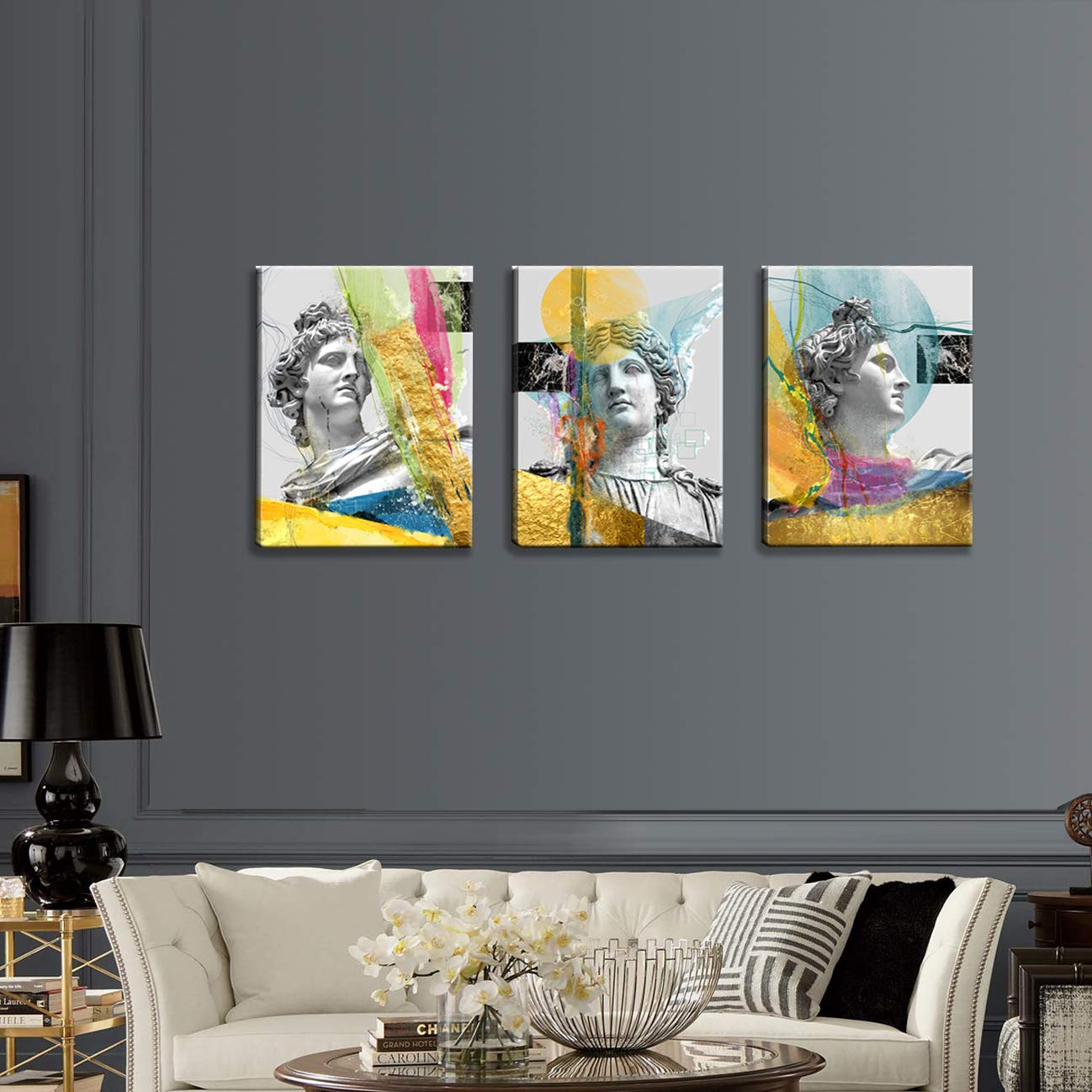 SHARK CANVAS PRINT PICTURE ABSTRACT WALL ART HOME DECOR LARGE 36 X 24 INCH
