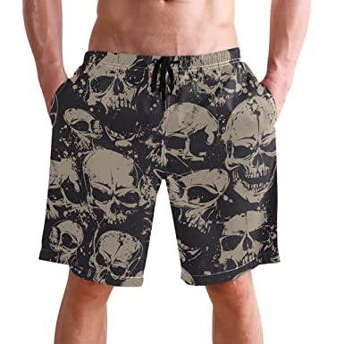 9b42a5821fdd5 Beach Shorts, Galaxy Printed Mens Trunks Swim Short Quick Dry with Pockets  for Summer Surfing Boardshorts Outdoor Water Sports: Amazon.co.uk: Clothing