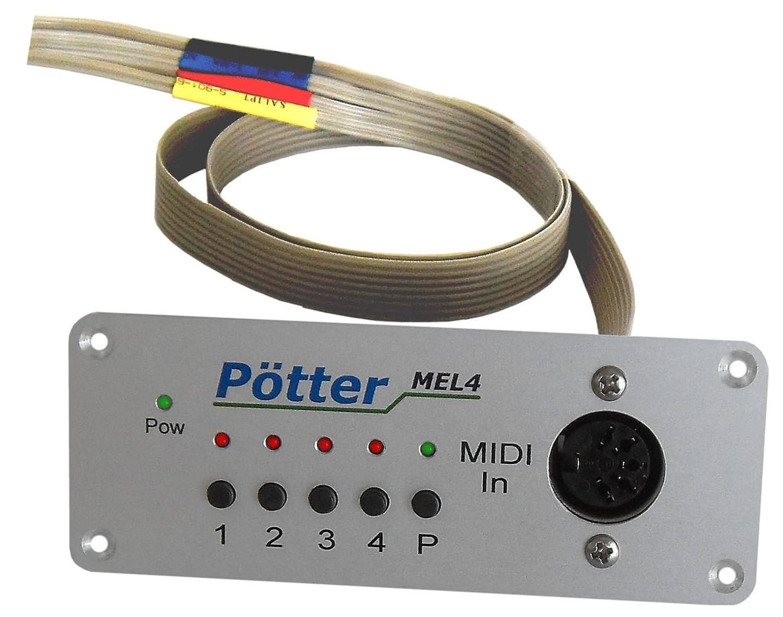 Controlador Midi mel4 empotrable módulo para guitarras y bajos ...