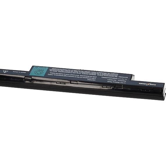 PURE⚡POWER® Batería del ordenador portátil para Packard Bell Easynote TS44HR-260SP (11.1V, 4400 mAh, negro, 6 celdas): Amazon.es: Electrónica