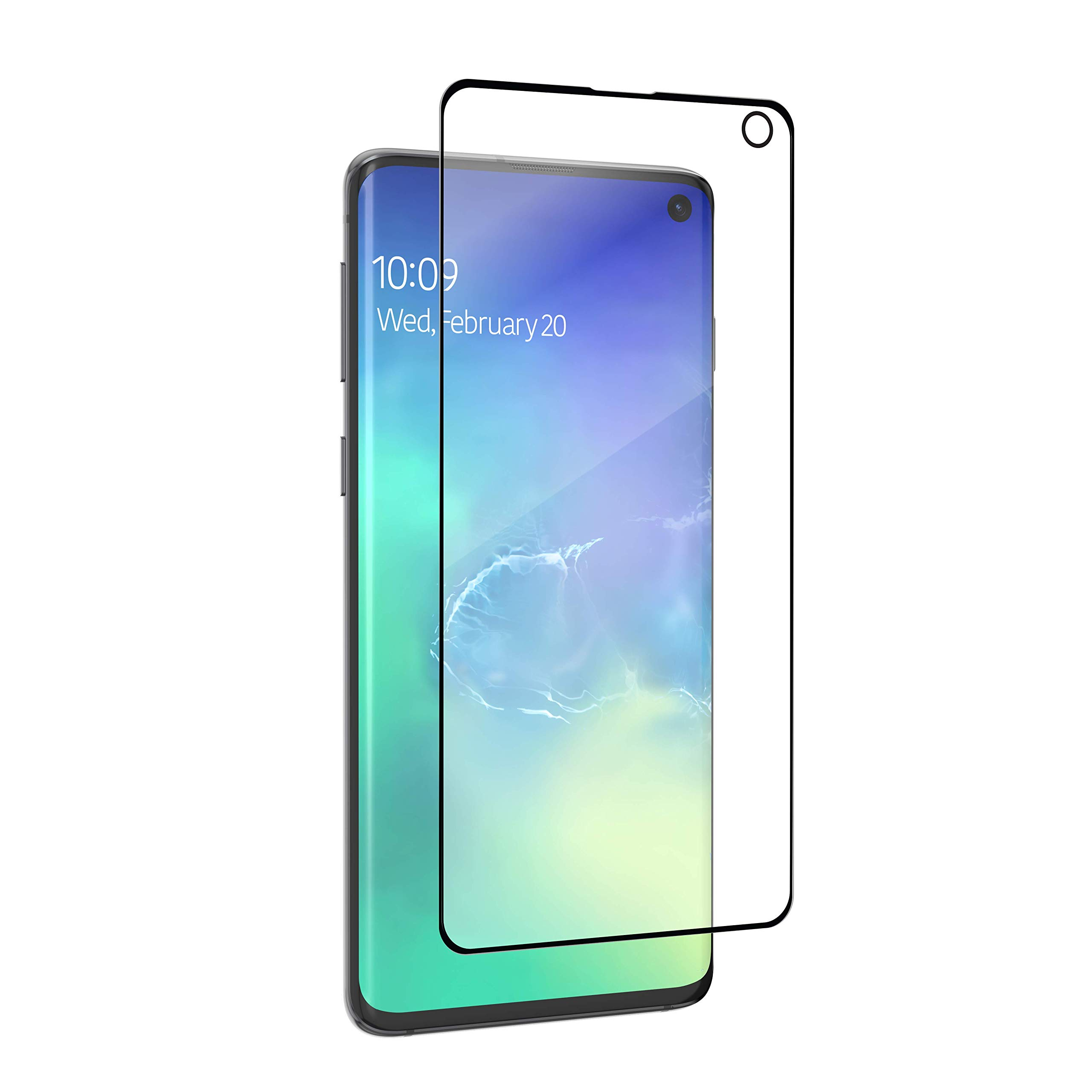 ZAGG Invisbleshield Glass Fusion Visionguard - Extreme Hybrid Glass Protection + Harmful Blue Light Filter - Screen Protector - Made for Samsung Galaxy S10 by ZAGG