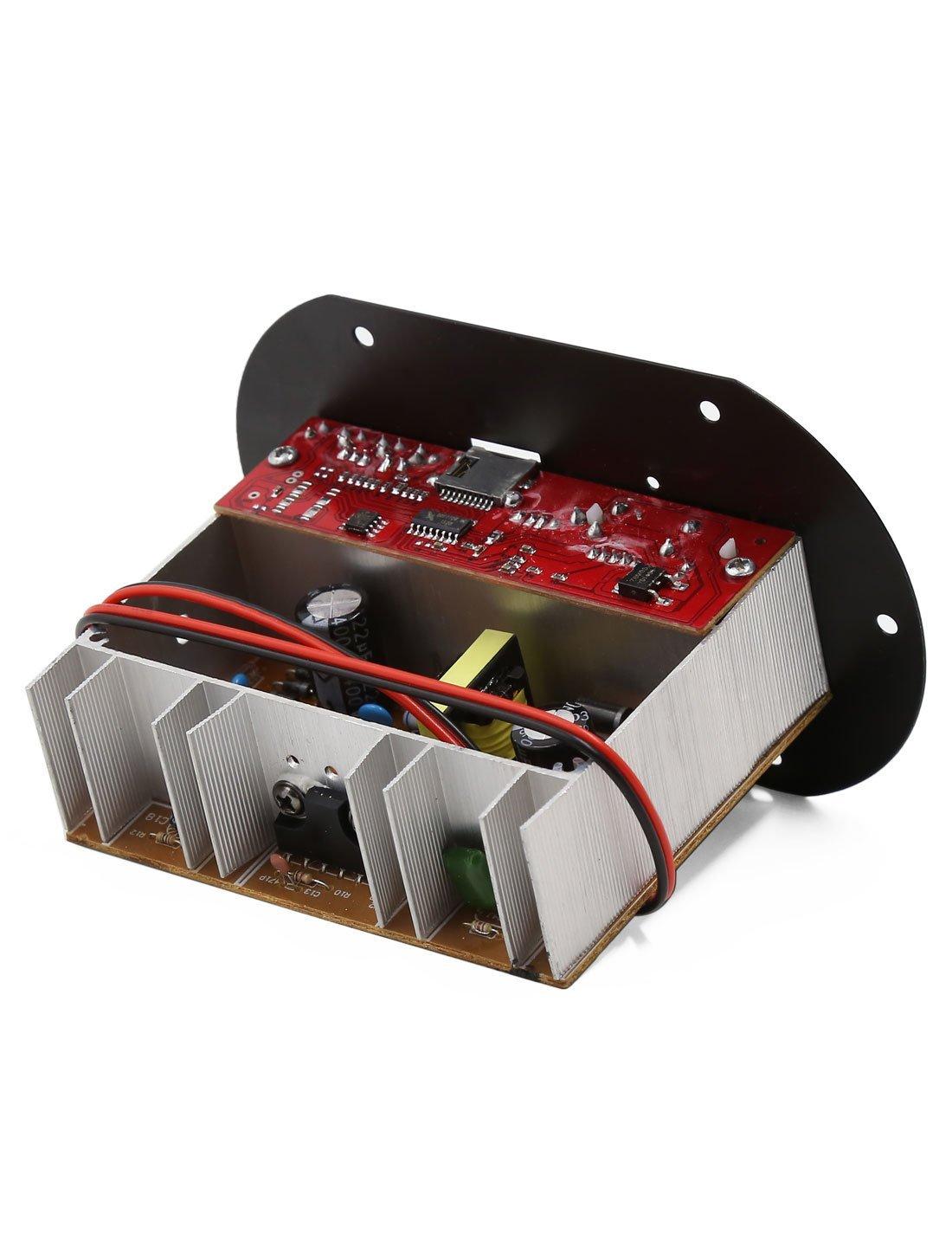 Amazon.com: Tablero del amplificador eDealMax 12V / 24V MP3 decodificador de Audio Potencia de altavoces Para coche: Car Electronics