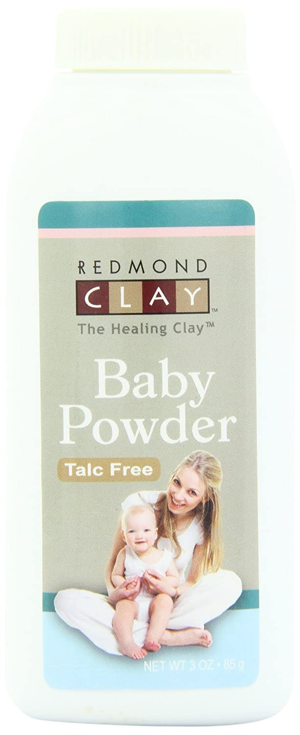 Baby Powder (Talc Free) 3 Ounces Redmond RealSalt 20332