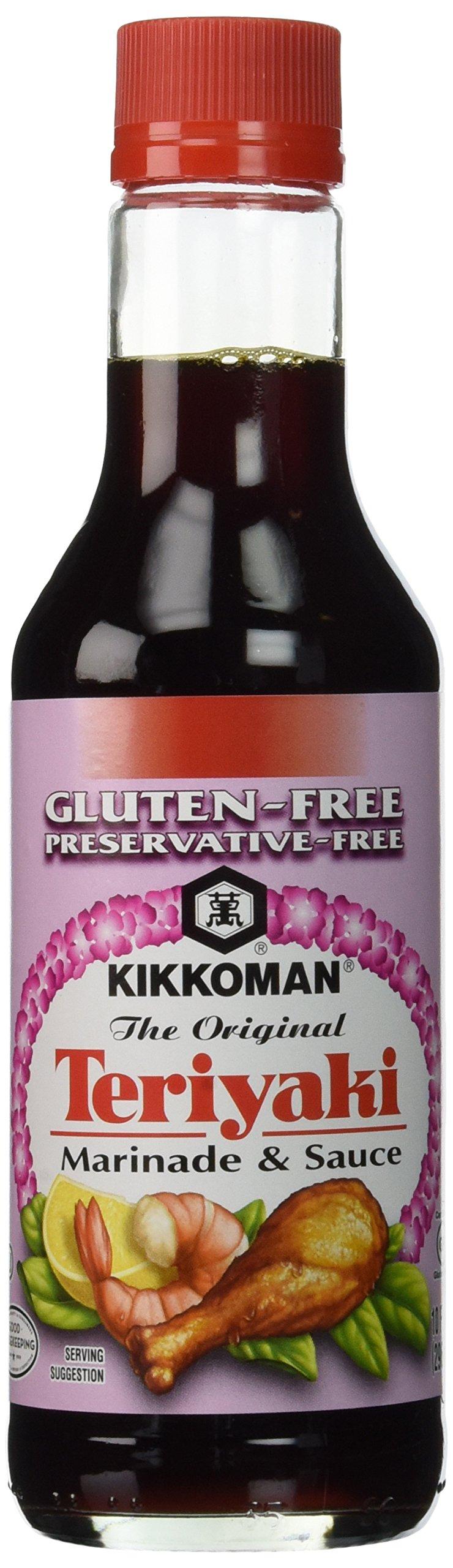 Kikkoman Gluten Free Teriyaki Sauce, 10 Ounce, one pack