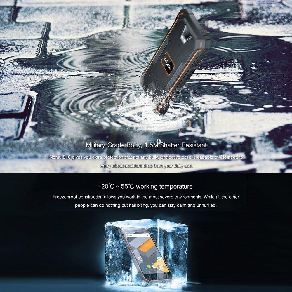 nomu S10 Smartphone 4 G OTG HIFI IP68 resistente al agua a prueba ...