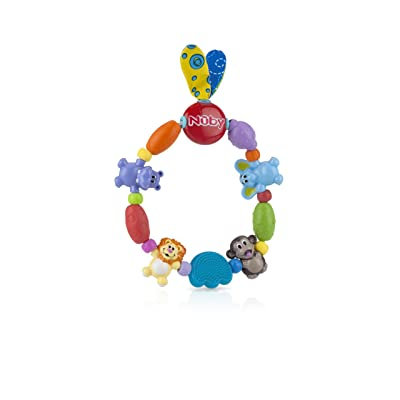 Nuby Safari Friends Baby Teether : Baby