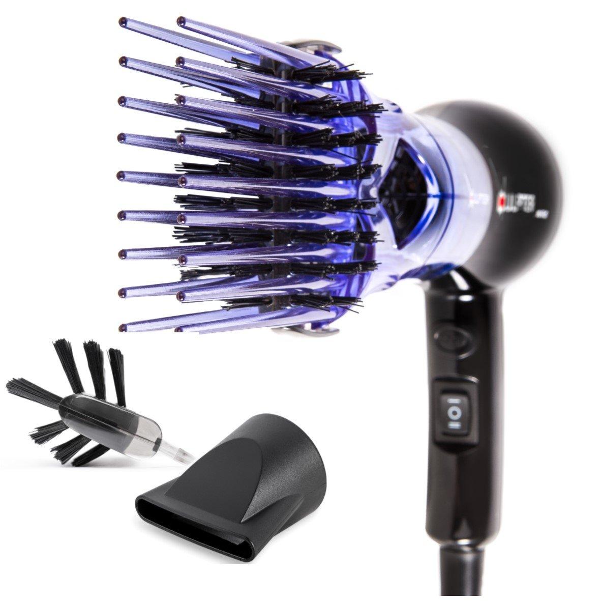 Xculpter Wild - Minisecador de pelo y alisador - 2 cepillos: Amazon.es: Belleza