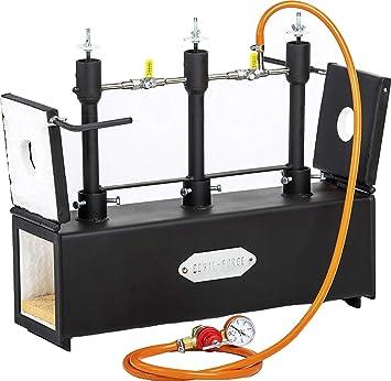 Gas Propane - Triple quemador de gas: Knifemaking Forge ...