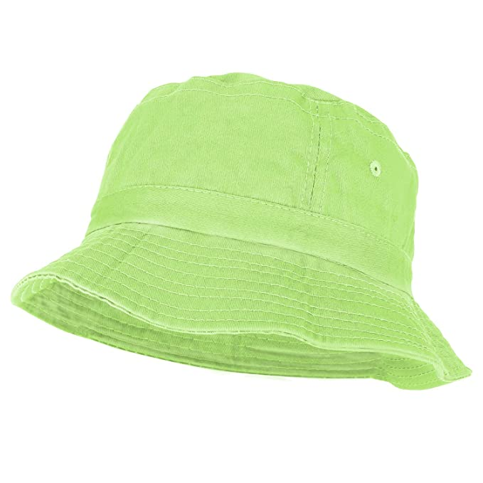 984955f7 Armycrew Youth Pigment Dyed Washed 100% Cotton Bucket Hat - Apple Green