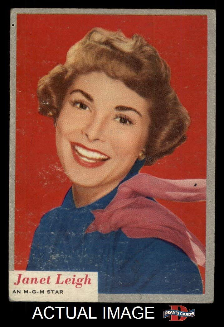 1953 Topps # 44 Janet Leigh (Card) Dean'S Cards 4 - Vg/Ex