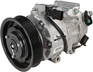 New Mando 10A1401 AC Compressor with Clutch Original Equipment (Pre-filled Oil)
