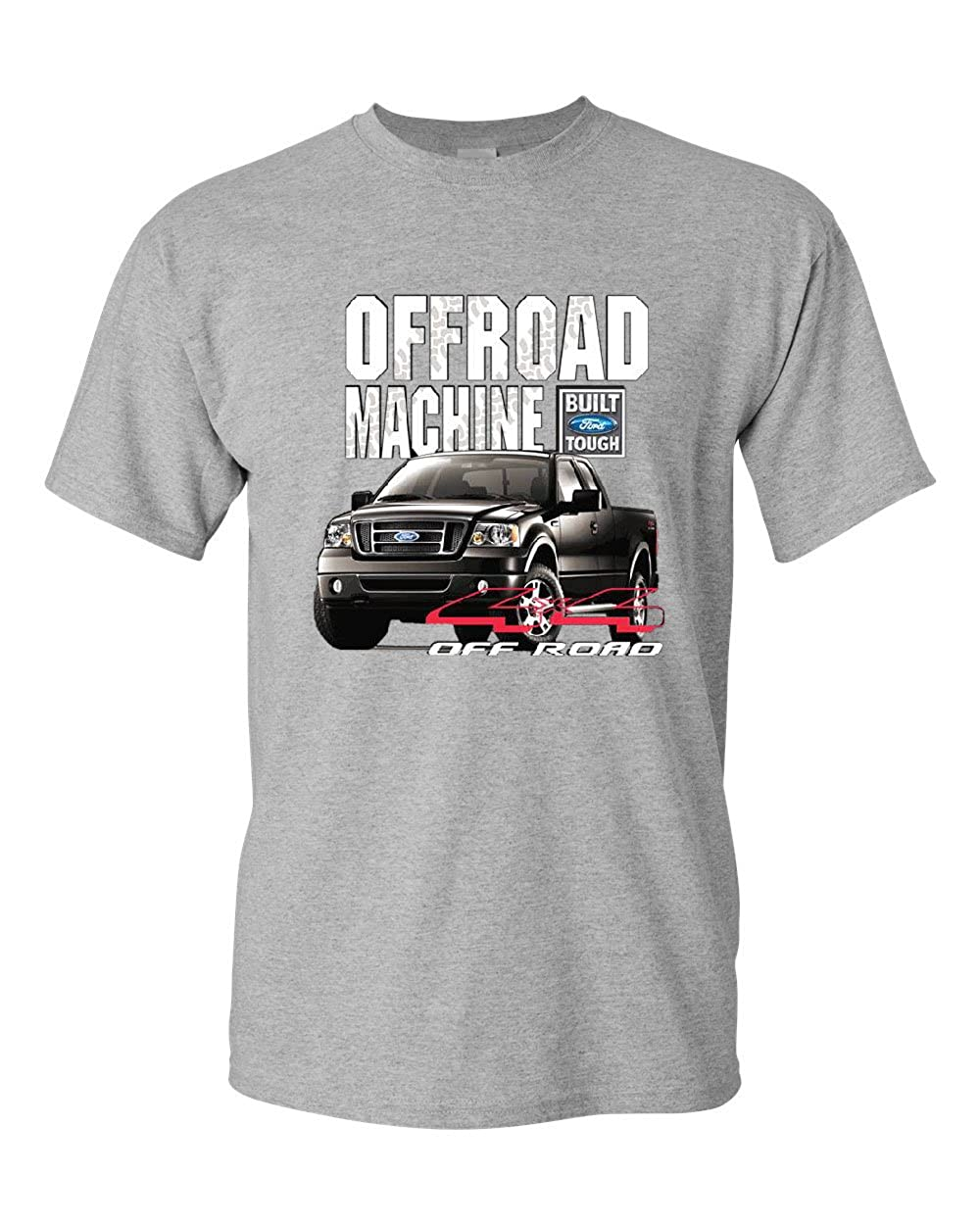 Licensed Ford F-150 T-Shirt Offroad Machine Built Ford Tough Tee Shirt