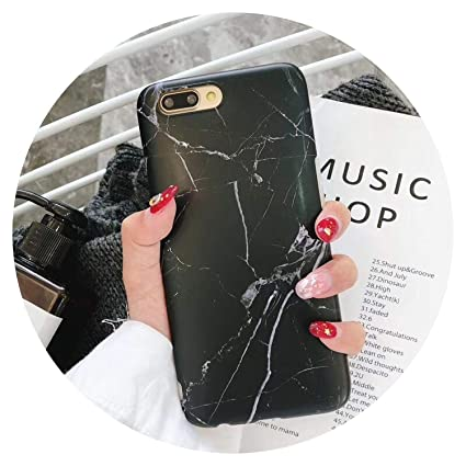 Amazon.com: Luxury Marble Phone Case for iPhone X 7 6 6S 8 ...