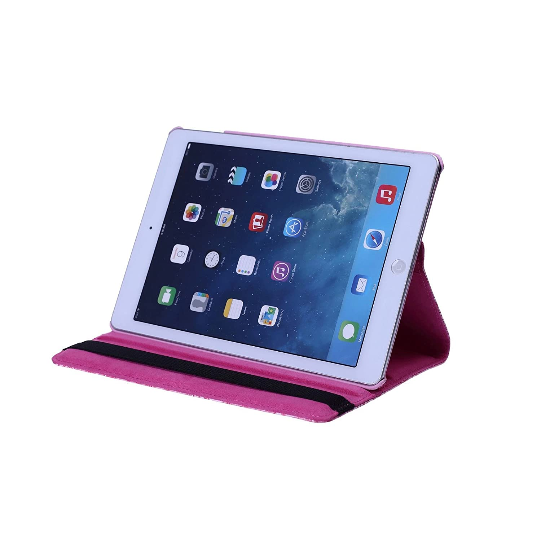 iPad Case 9.7 inch 2017//2018 ipad air iPad air 2 inShang ipad case Smart Cover iPad Stand 360 Degree Rotating+1pc business stylus Pen Auto Sleep//Wake
