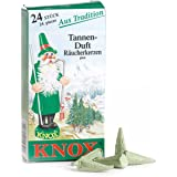 KNOX cônes d'encens parfum tannenduft (lot de 24)