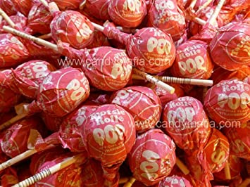 Amazoncom Tootsie Pops Strawberry 60 Pops Suckers And Lollipops