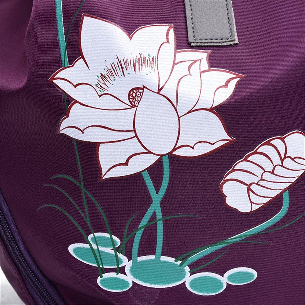 d2edd559671b3 JUND Nylon Frau Vintage Ethno Rucksack Mode Druck Daypack Lässig Travel  Backpack Einfach College Schultasche Damen  Amazon.de  Koffer