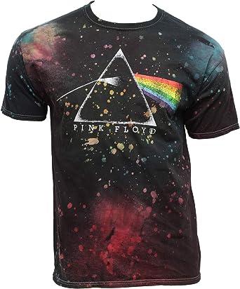 Los Hombres de Pink Floyd Dark Side of The Moon Prism salpicar Tinte Adulto Camiseta