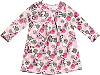 product image for Winter Water Factory Long Sleeve Organic Aspen Baby Girls Dress