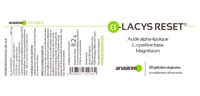 Anastore Ácido Alfa-Lipoico 300 mg - 30 Cápsulas: Amazon.es: Salud y cuidado personal