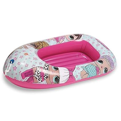 LOL Surprise- Barca 94cm Hinchable para Playa o Piscina Brazaletes ...