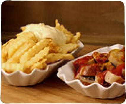 alfombrilla de ratón Currywurst y papas fritas: Amazon.es ...