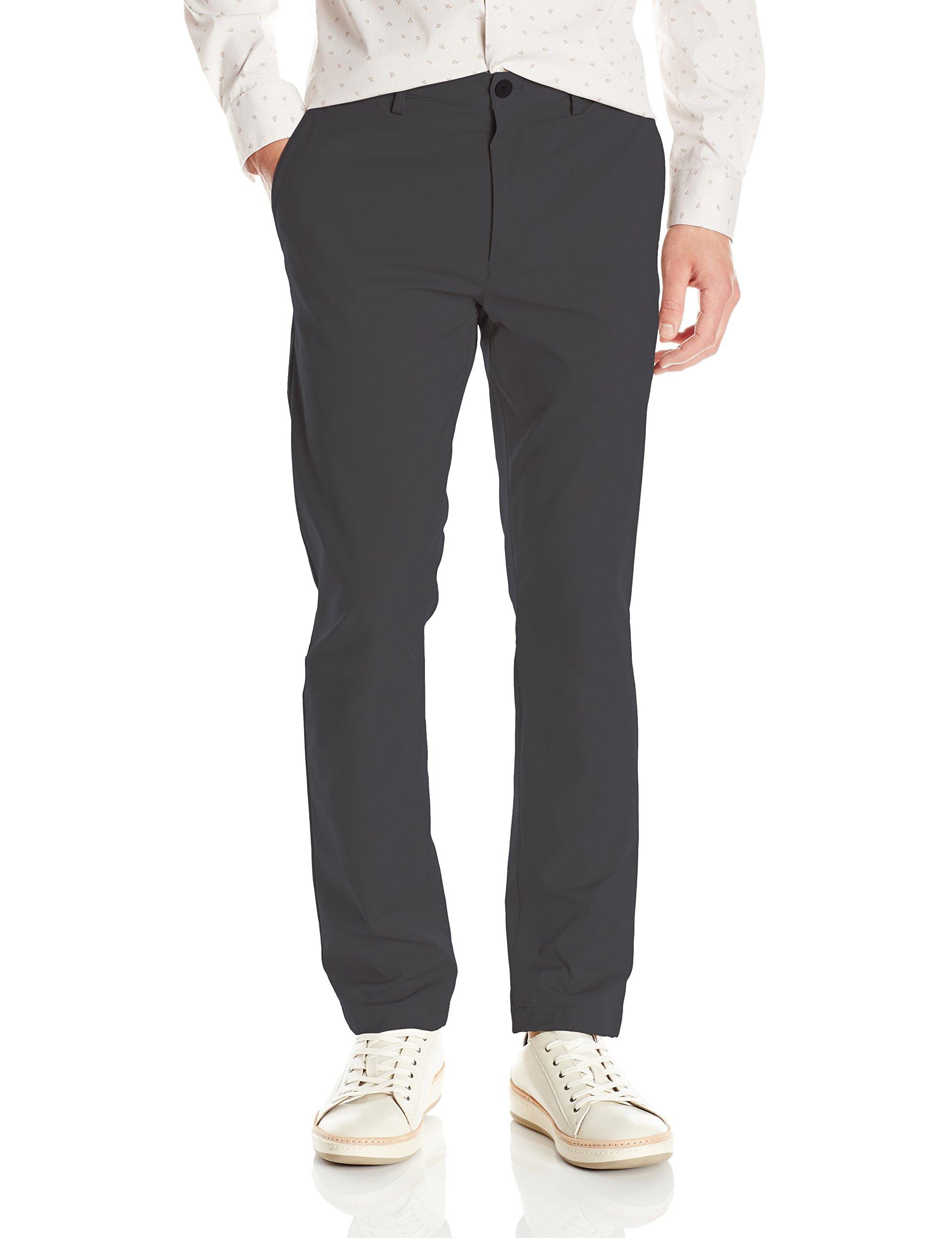 Theory Men's Zaine Neoteric Tailored Pant, Dark Grey, 34