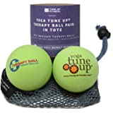 Yoga Tune Up Therapy Ball Pair in Tote, Apple Green