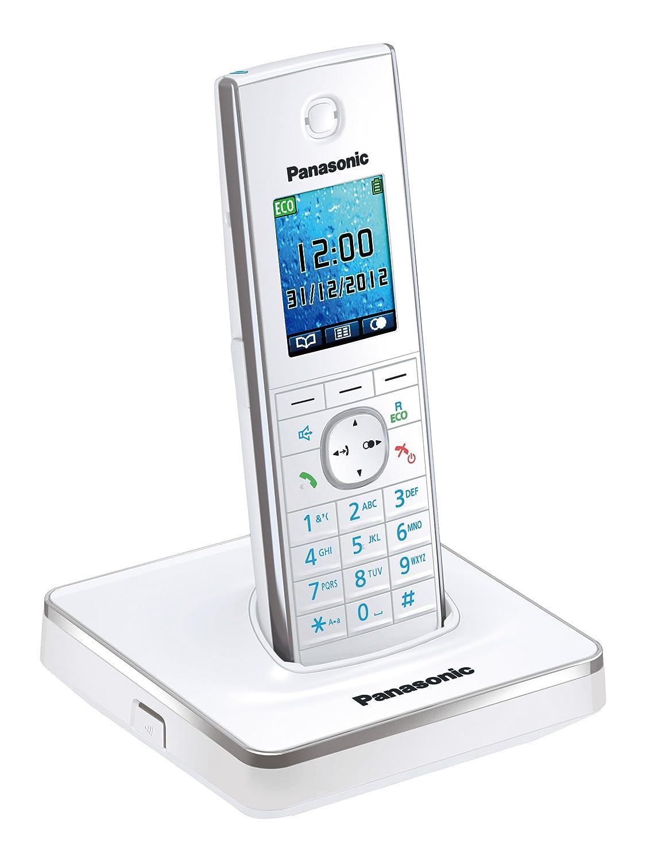 Panasonic KX-TG8551SPW - Teléfono digital, color blanco: Amazon.es: Electrónica