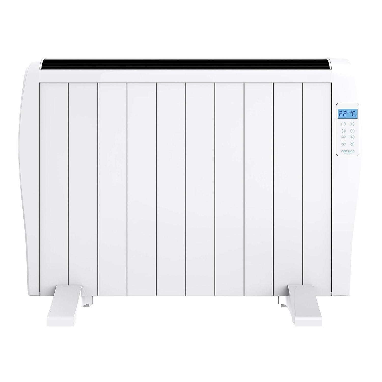 Pantalla LED Mando a Distancia 3 Modos de funcionamiento Temporizador 900 W 6 Elementos Cecotec Emisor T/érmico Ready Warm 1200 Thermal