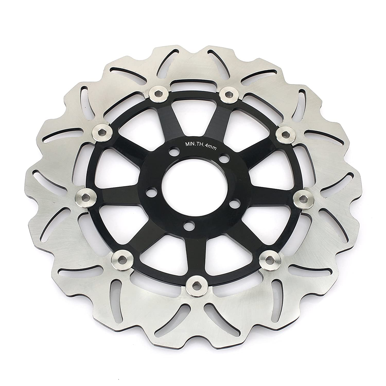 TARAZON Front Brake Discs Rotors for Kawasaki Ninja ZX6R ZX600 95-01 ZX9R 98 99 ZX12R 2004-2006
