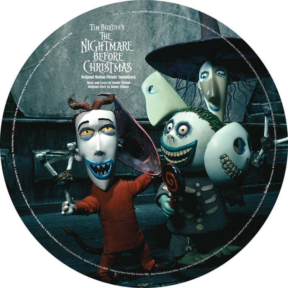 home decor the nightmare before christmas design vinyl wall clock ...