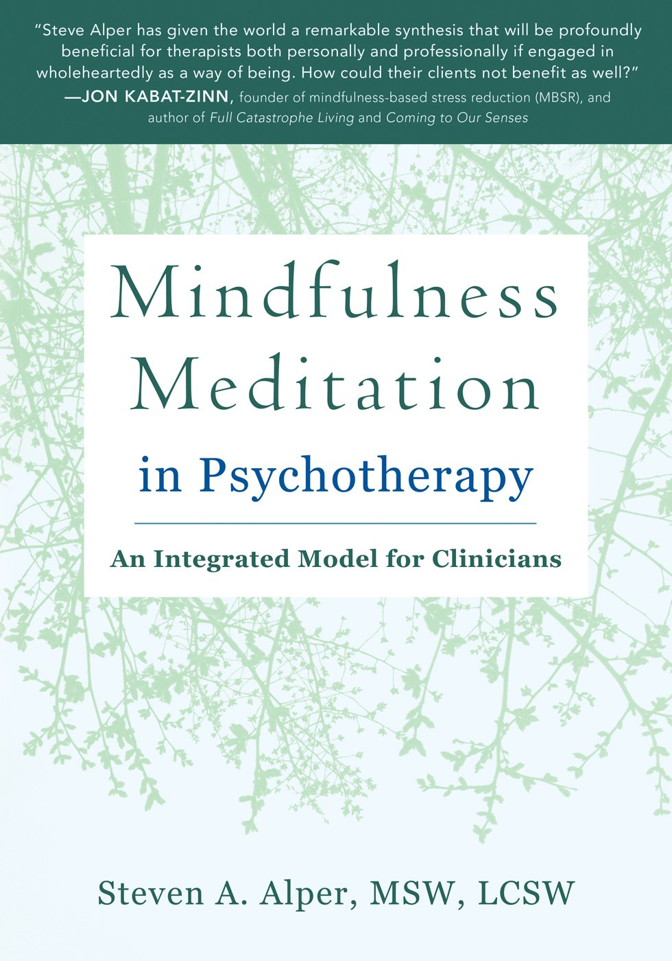 Mindfulness meditation in psychotherapy an integrated model for mindfulness meditation in psychotherapy an integrated model for clinicians steven a alper msw lcsw 9781626252752 amazon books fandeluxe Choice Image