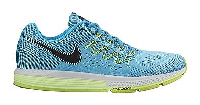 hot sale online 73b16 63d44 Amazon.com   Nike Air Zoom Vomero 10 Running Shoe - Mens  Blue Lagoon Ghose  Green Volt Black, 14.0   Road Running