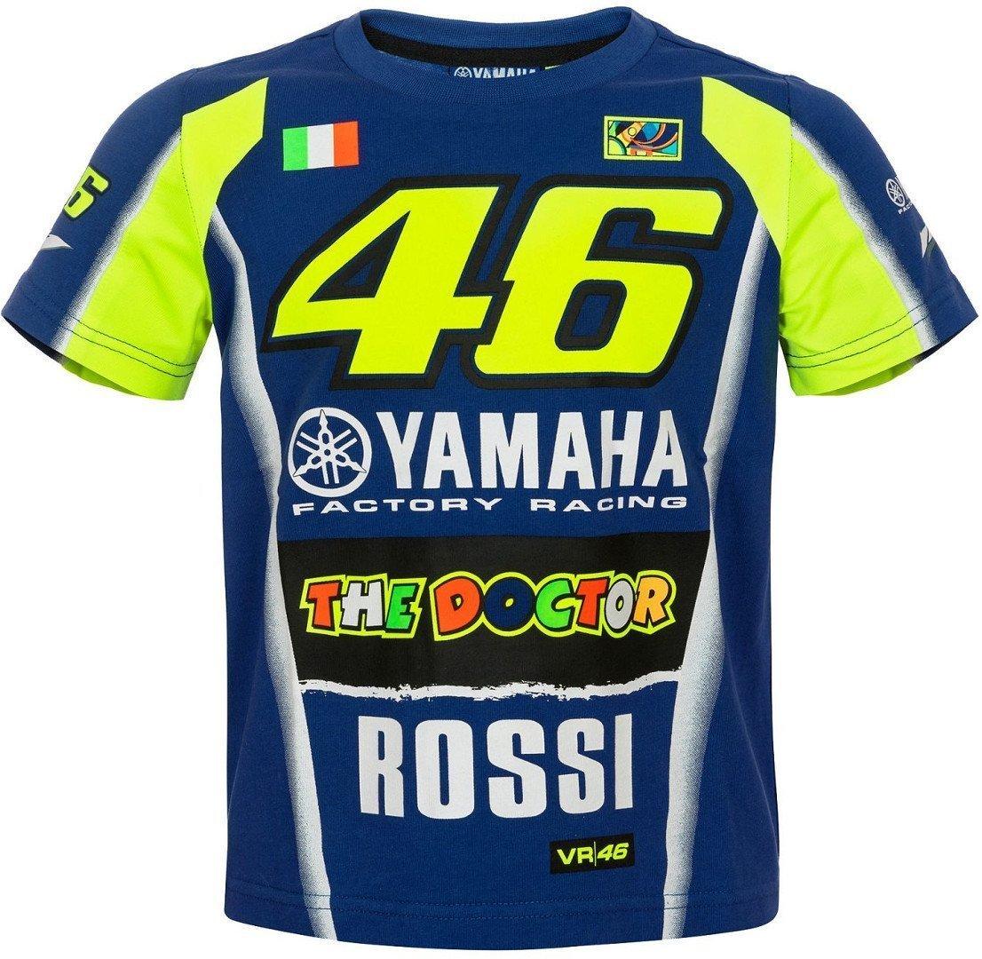 T-shirt enfant junior Yamaha M1 VR46 Valentino Rossi TG. 11/12