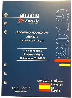 Recambio anual 2019 catalán: Amazon.es: Oficina y papelería