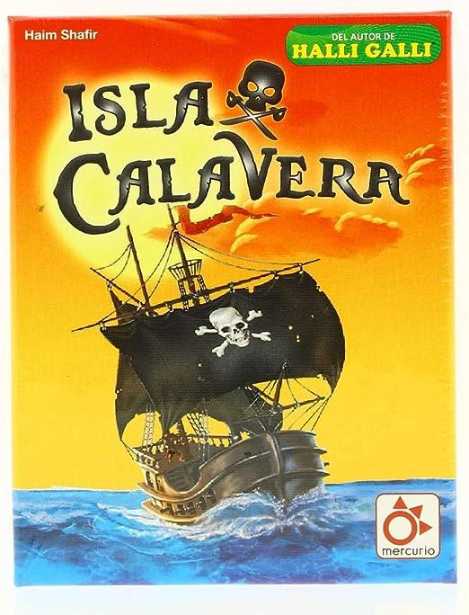 Mercurio Isla Calavera. Juego de Mesa en Castellano: Amazon.es ...