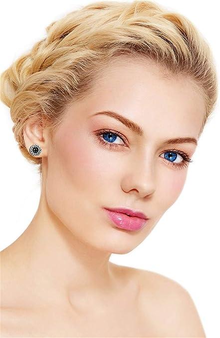 Fiasaso 33-45 Pairs Assorted Multiple Stud Earrings for Women Girls Big Hoop Earring Set Boho Jewelry