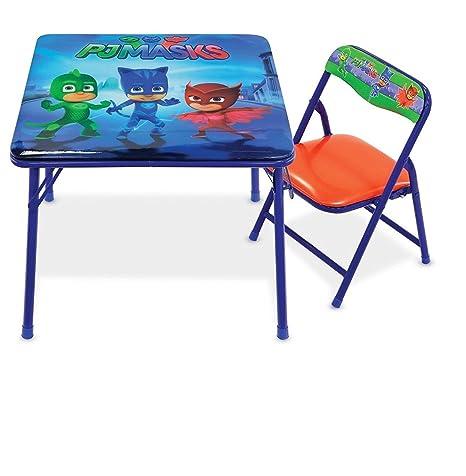 PJ Masks Disneys Jr. Table Set with 1 Chair Activity