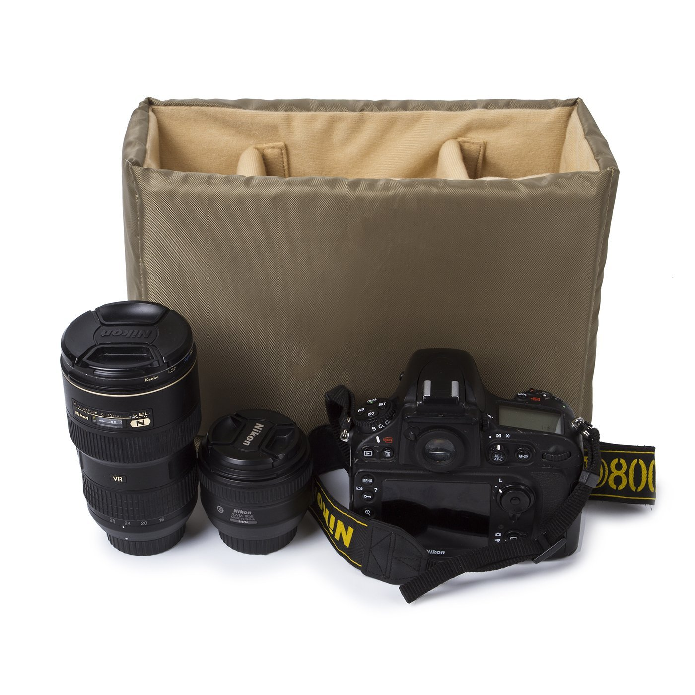 DSLR Camera Insert Camera Case Partition Padded Camera bag, Make Your Own Camera Bag,12.5'' X 8.4'' X4.5''