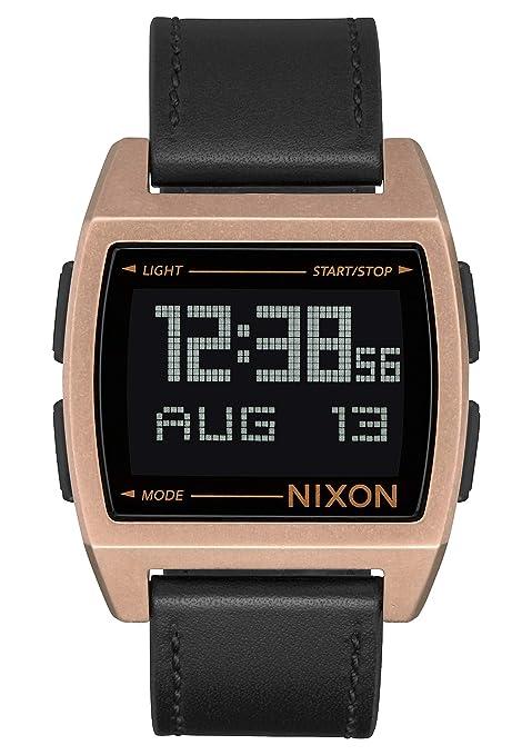Nixon Reloj Unisex de Digital con Correa en Cuero A1181-872-00
