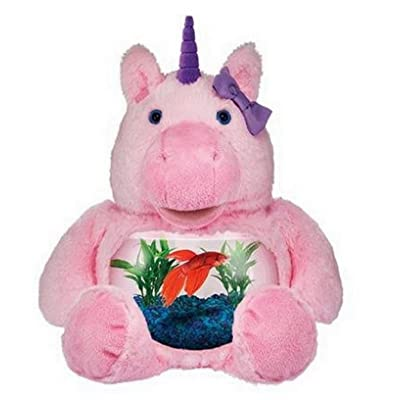 Teddy Tank Plush - Pink Magical Unicorn: Pet Supplies