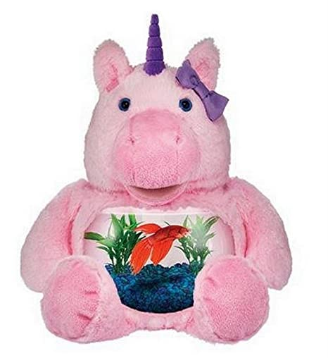 Teddy Tank Plush - Pink Magical Unicorn
