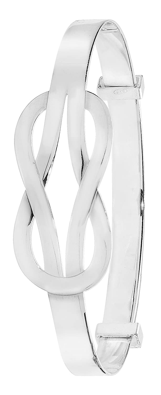 Silver Bangle Silver Bracelet Silver Expandable Baby Bangle - Christening Gift London Jewellery Quarter JRG4378