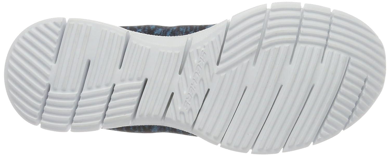 Skechers Sport Women's Glider Stretch Fit Fearless Deep Space Sneaker B0113OAO98 9 B(M) US|Navy/Green