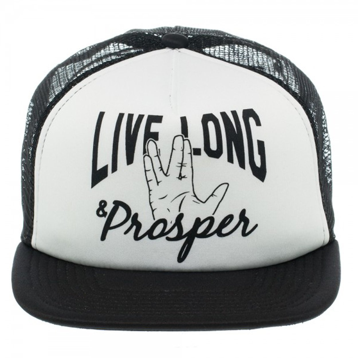 Star Trek Live Long   Prosper Trucker Mesh Hat 9de3bb8e022