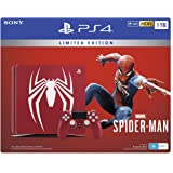 Limited Edition Amazing Red Marvel's Spider-Man 1TB PS4
