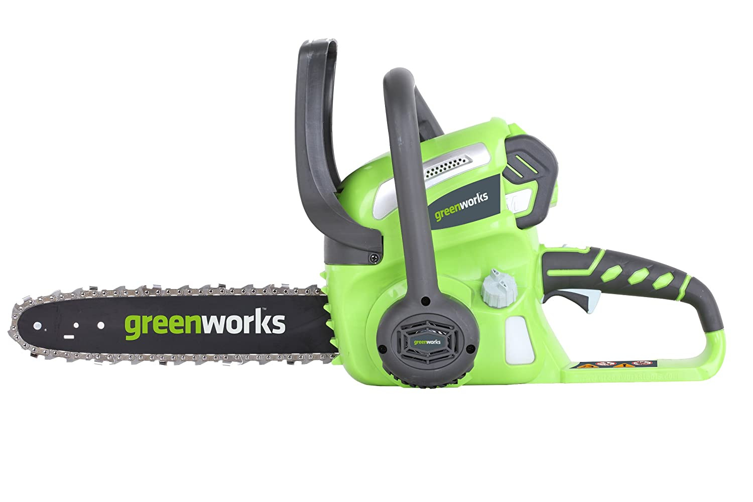 GreenWorks 20262 battery-powered chainsaw