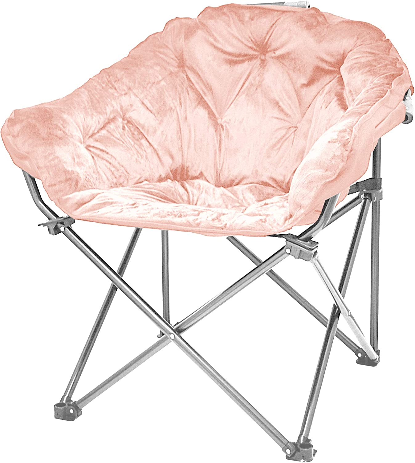 Urban Shop Micromink Club Chair, Blush