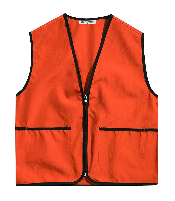 Hipsteration Unisex Outdoor Uniform Work Vest for Women and Men